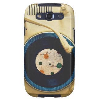 Tocadiscos del vintage carcasa para samsung galaxy s3