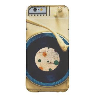 Tocadiscos del vintage funda de iPhone 6 barely there