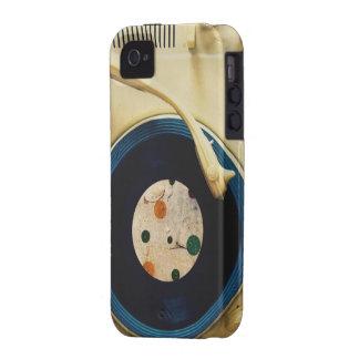Tocadiscos del vintage iPhone 4 carcasa