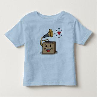 Tocadiscos lindo - la camiseta del niño