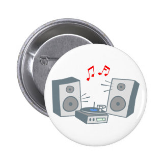 Tocadiscos record player pin
