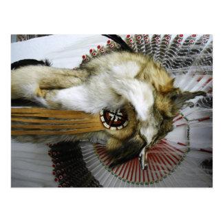 Tocado del coyote postal
