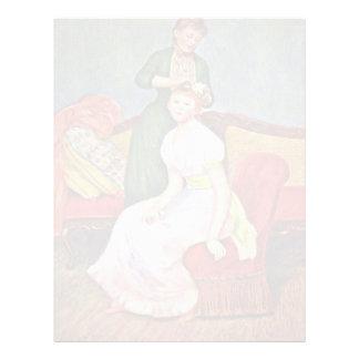 Tocado del La de Pierre-Auguste Renoir Membrete