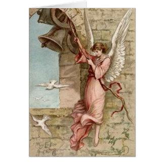 Tocando la Bell - la tarjeta de pascua