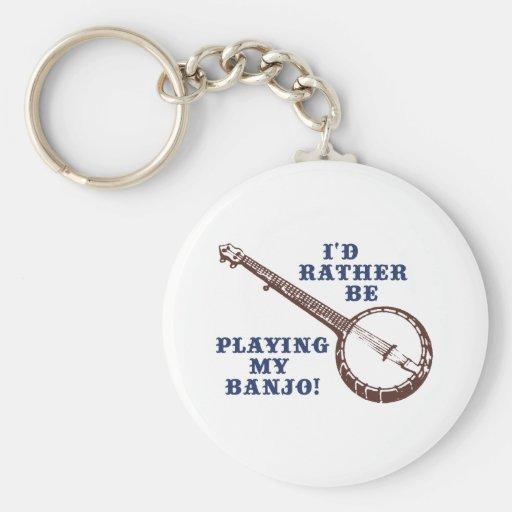 Tocar mi banjo llaveros