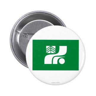 Tochigi Prefecture Flag Pinback Buttons