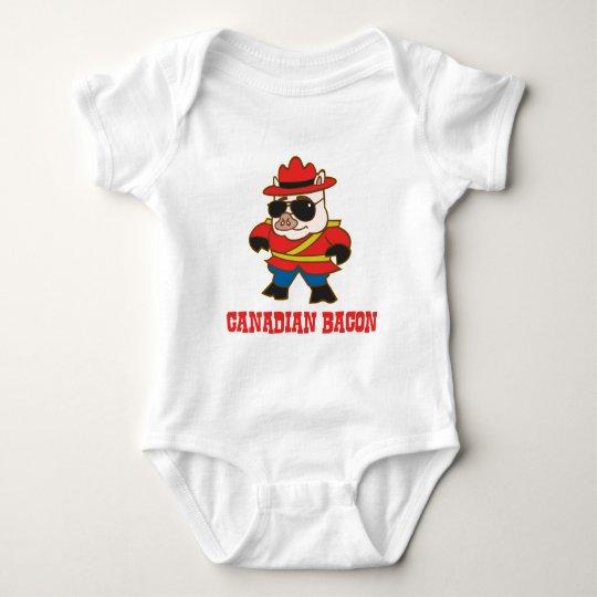 Tocino canadiense body para bebé