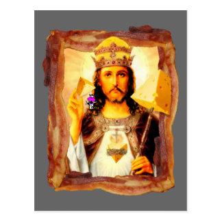 Tocino Cristo de Cheesus Tarjeta Postal