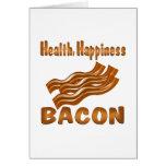 Tocino de la felicidad de la salud felicitaciones