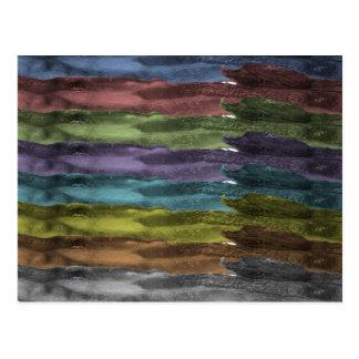 Tocino del arco iris tarjetas postales