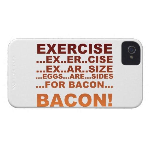 Tocino del ejercicio iPhone 4 Case-Mate protectores