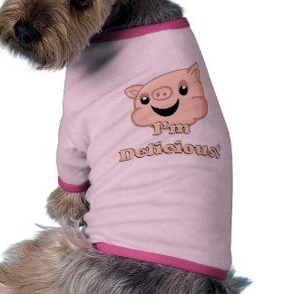 Tocino delicioso camisetas de mascota
