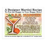Tocino, lechuga, postal de la receta de Martini de