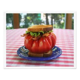 Tocino, lechuga y bocadillo gigante del tomate fotografías