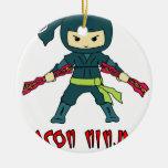 Tocino Ninja Adorno Para Reyes