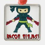 Tocino Ninja Ornamentos De Reyes