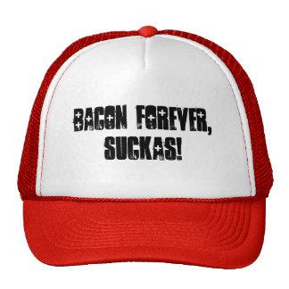 ¡Tocino para siempre, suckas! gorra del camionero