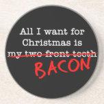 Tocino todo lo que quiero para el navidad posavasos manualidades