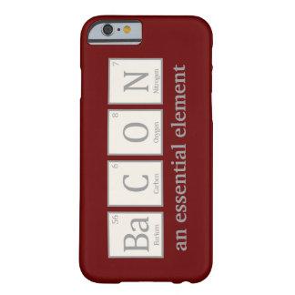 Tocino, un elemento esencial funda de iPhone 6 barely there