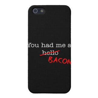 Tocino usted me tenía en iPhone 5 cobertura