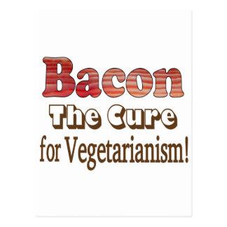 Tocino vegetariano postales