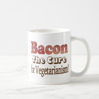 Tocino vegetariano taza