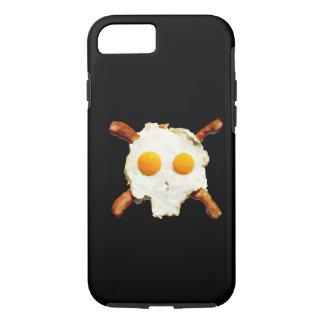 tocino y cráneo de los huevos funda iPhone 7