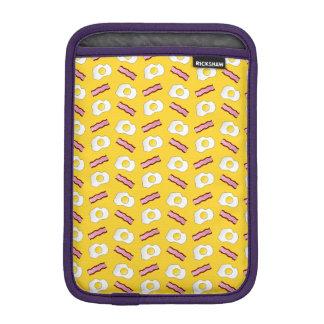 Tocino y huevos amarillos funda de iPad mini