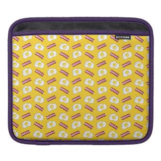 Tocino y huevos amarillos manga de iPad