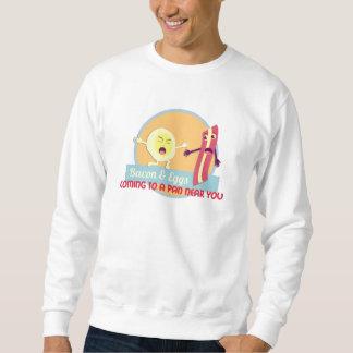 Tocino y huevos suéter