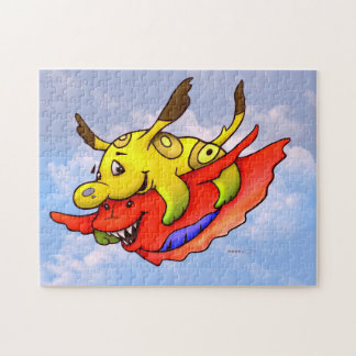 TOCO AND SPLASH MONSTERS PUZZLE 11 X 14