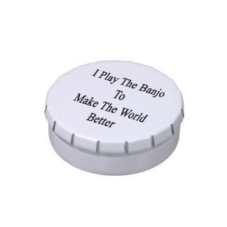 Toco el banjo para hacer el mundo mejor