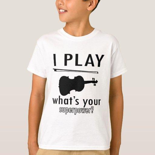 Toco el violín playera