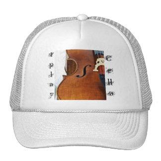 Toco el violoncelo gorra