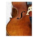 Toco el violoncelo tarjeta postal