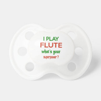 ¿Toco la flauta cuál es su superpotencia? Chupete