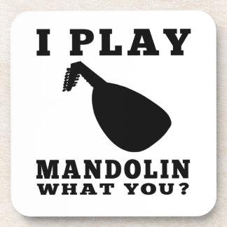 Toco la mandolina posavaso