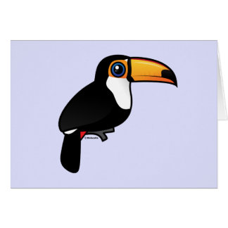 Toco Toucan Card
