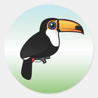 Toco Toucan Classic Round Sticker