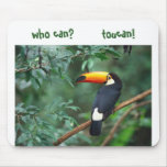 Toco Toucan, who can?        toucan! Mouse Pad