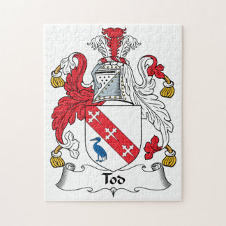 Tod Family Crest Jigsaw Puzzle