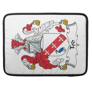 Tod Family Crest MacBook Pro Sleeves