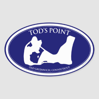 Tod s Point Oval Sticker