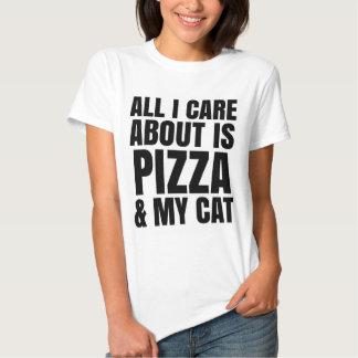 TODA CUIDADO DE I ES ALREDEDOR PIZZA Y MI CAMISETA PLAYERA