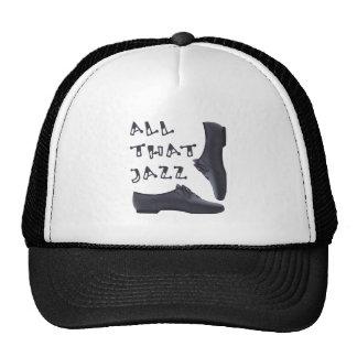 Toda esa camisa del jazz gorra