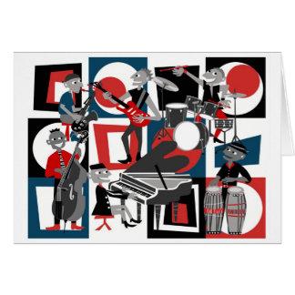 Toda esa tarjeta de felicitación del jazz