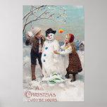 Toda la alegría del navidad sea la suya posters