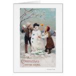 Toda la alegría del navidad sea la suya felicitaciones