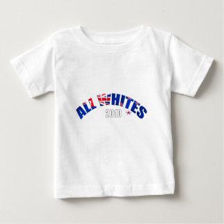 Toda la bandera de los blancos 2010 de Nueva Playera Para Bebé
