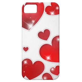 Toda la caja de la casamata de los corazones iPhone 5 carcasas
